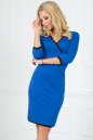 Повседневное платье футляр электрика цвета No0|интернет-магазин vvlen.com