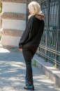 Худи оверсайз черного цвета   No3|интернет-магазин vvlen.com