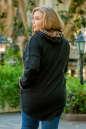 Худи оверсайз черного цвета   No8|интернет-магазин vvlen.com