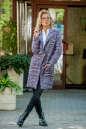 Кардиган модный сиреневого с черным цвета 2393.21 No1|интернет-магазин vvlen.com