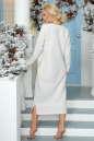 Повседневное платье  мешок светло-серого цвета 2470.91 No2|интернет-магазин vvlen.com