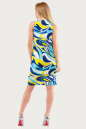 Летнее платье  мешок голубого тона цвета 1107.20 No3|интернет-магазин vvlen.com