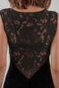 Коктейльное платье футляр черного цвета 1954.26 No4|интернет-магазин vvlen.com