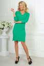 Повседневное платье футляр зеленого цвета 2489.47 No2|интернет-магазин vvlen.com