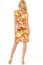 Летнее платье трапеция оранжевого цвета No3 интернет-магазин vvlen.com