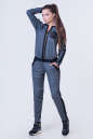 Женский комбинезон брючный серого цвета 2381.41 No0|интернет-магазин vvlen.com