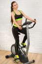Топ для фитнеса черного с зеленым цвета No3|интернет-магазин vvlen.com