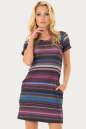 Спортивное платье  малинового цвета 224br|интернет-магазин vvlen.com