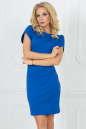 Повседневное платье футляр электрика цвета 2504.47|интернет-магазин vvlen.com