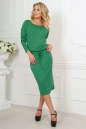 Повседневное платье футляр зеленого цвета 2478.65 No1|интернет-магазин vvlen.com