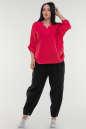 Блуза малинового цвета it 506|интернет-магазин vvlen.com