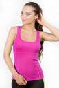 Майка для фитнеса розового цвета 2360.67|интернет-магазин vvlen.com