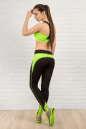 Топ для фитнеса зеленого цвета 2317.67 No5 интернет-магазин vvlen.com
