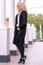 Кардиган модный черного цвета No0|интернет-магазин vvlen.com