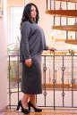 Платье оверсайз серого цвета 2426-41.41 No4|интернет-магазин vvlen.com
