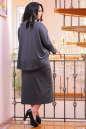 Платье оверсайз серого цвета 2426-41.41 No5|интернет-магазин vvlen.com