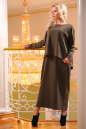 Платье оверсайз хаки цвета No0|интернет-магазин vvlen.com