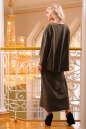 Платье оверсайз хаки цвета No1|интернет-магазин vvlen.com