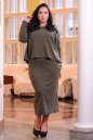 Платье оверсайз хаки цвета No3|интернет-магазин vvlen.com