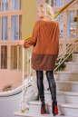 Туника асимметричная светло-коричневого цвета 2430.86 No1|интернет-магазин vvlen.com