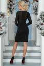 Коктейльное платье футляр черного цвета 2455-1.47 No3|интернет-магазин vvlen.com
