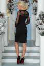 Повседневное платье футляр черного цвета No3|интернет-магазин vvlen.com
