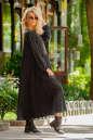 Платье оверсайз коричневого цвета 2403.86 No1|интернет-магазин vvlen.com