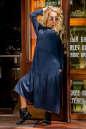 Платье оверсайз морской волны цвета No0|интернет-магазин vvlen.com