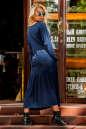 Платье оверсайз морской волны цвета No2|интернет-магазин vvlen.com