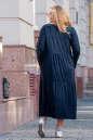 Платье оверсайз морской волны цвета No5|интернет-магазин vvlen.com