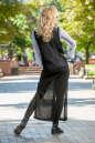 Кардиган стильный черного цвета No3|интернет-магазин vvlen.com