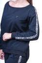 Спортивный костюм черного цвета 2390.90 No3|интернет-магазин vvlen.com