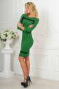 Повседневное платье футляр зеленого цвета 2477.47 No2|интернет-магазин vvlen.com