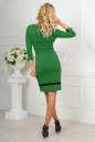 Повседневное платье футляр зеленого цвета 2477.47 No3|интернет-магазин vvlen.com