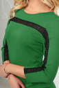 Повседневное платье футляр зеленого цвета 2477.47 No4|интернет-магазин vvlen.com