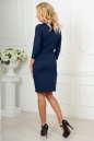Офисное платье футляр темно-синего цвета 2475.47 No3|интернет-магазин vvlen.com