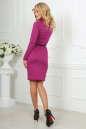 Офисное платье футляр сиреневого цвета No4|интернет-магазин vvlen.com