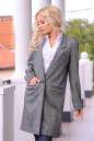 Жакет женский удлиненный темно-серого цвета 2418.29 No2|интернет-магазин vvlen.com