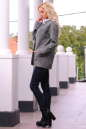 Жакет женский темно-серого цвета No1|интернет-магазин vvlen.com