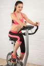 Лосины для фитнеса черного с розовым цвета 2313.67 No3|интернет-магазин vvlen.com