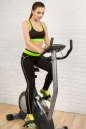 Лосины для фитнеса черного с зеленым цвета 2309.67 No6|интернет-магазин vvlen.com