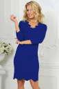 Повседневное платье футляр электрика цвета 2489.47|интернет-магазин vvlen.com