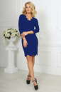 Повседневное платье футляр электрика цвета 2489.47 No1|интернет-магазин vvlen.com