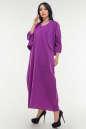 Летнее платье  мешок сиреневого цвета No1|интернет-магазин vvlen.com