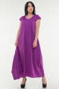 Летнее платье  мешок сиреневого цвета No3|интернет-магазин vvlen.com