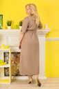 Платье рубашка капучино цвета  No2|интернет-магазин vvlen.com