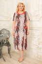 Платье розового тона цвета 2334.5 d22  No0|интернет-магазин vvlen.com