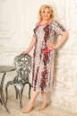 Платье розового тона цвета 2334.5 d22  No1|интернет-магазин vvlen.com