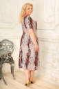 Платье розового тона цвета 2334.5 d22  No2|интернет-магазин vvlen.com