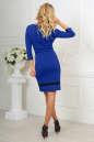 Повседневное платье футляр электрика цвета 2477.47 No3 интернет-магазин vvlen.com